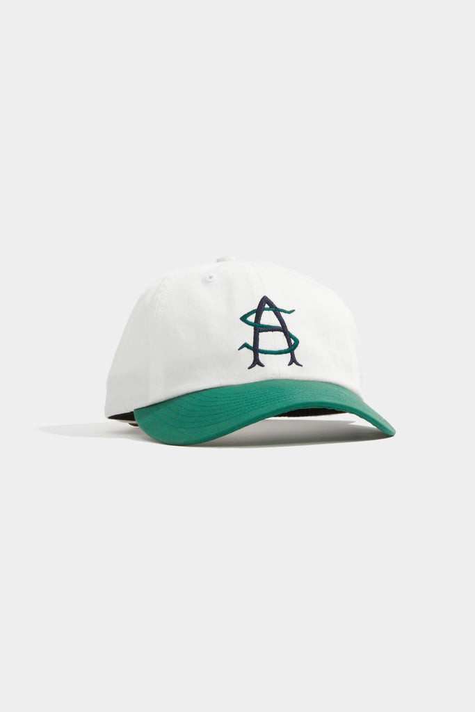 Monogram Hat - White