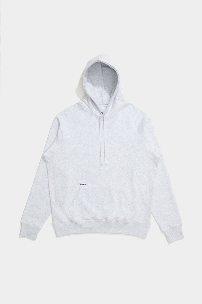 Core Logo Hoodie - Heather Grey