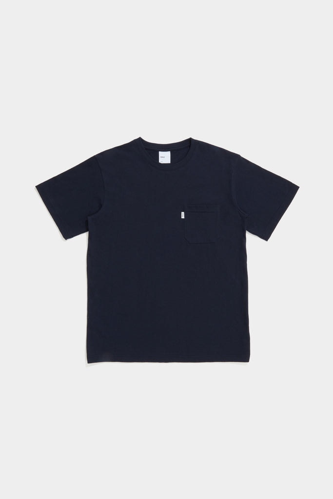 SS Pocket Tee - Dark Navy