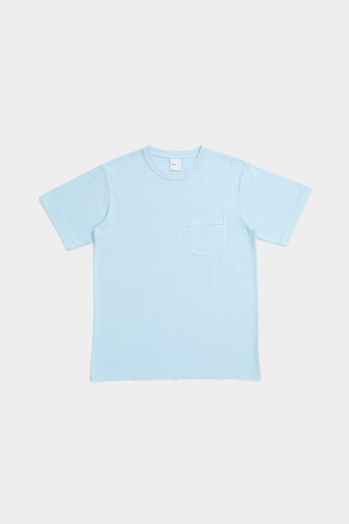 SS Pocket Tee - Sky Blue
