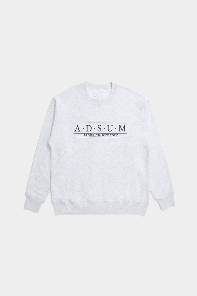 Baskerville Crewneck - Heather Grey