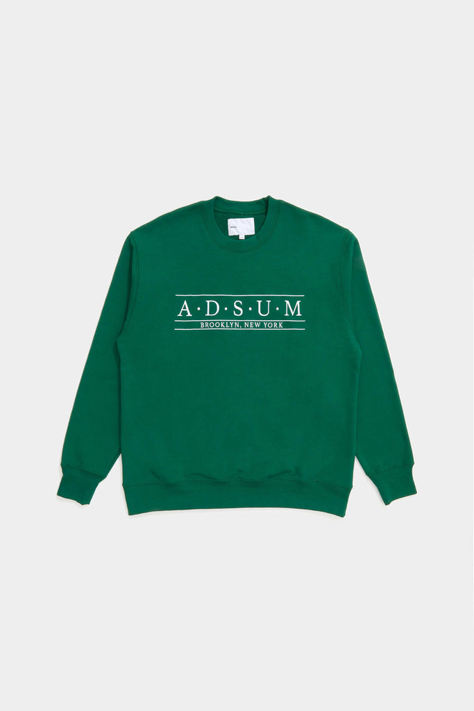 Baskerville Crewneck - Evergreen