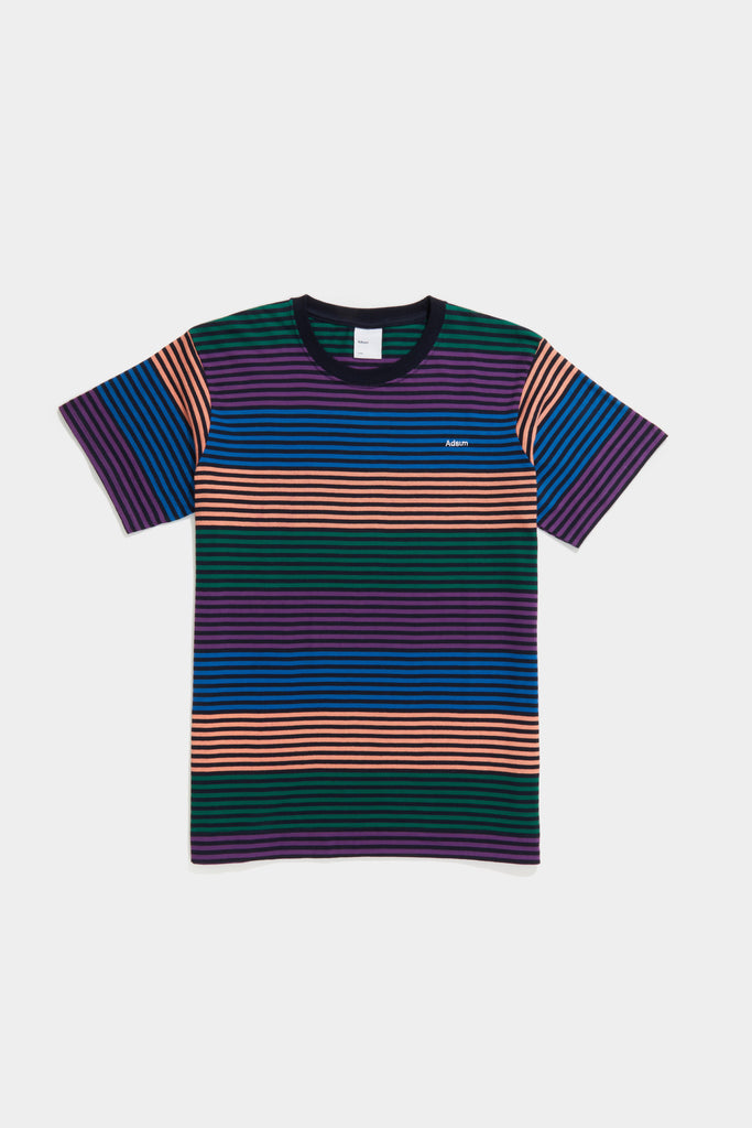 Candy Stripe Tee - Rainbow