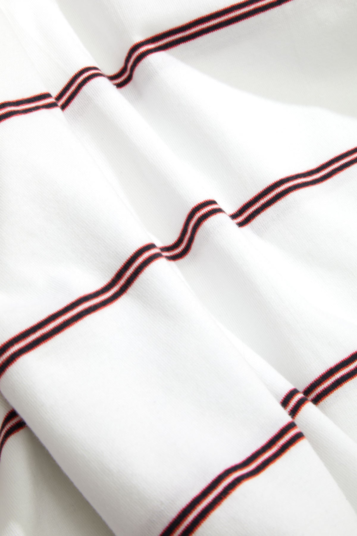 Adsum - Watermelon Navy Stripe Detail