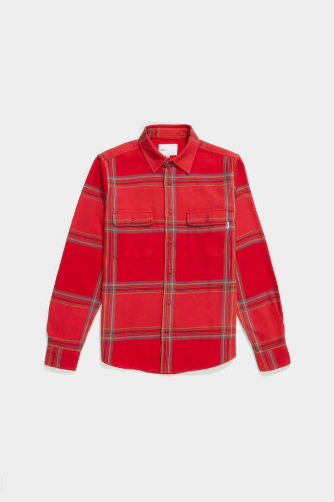 Big Plaid Workshirt - Watermelon Plaid