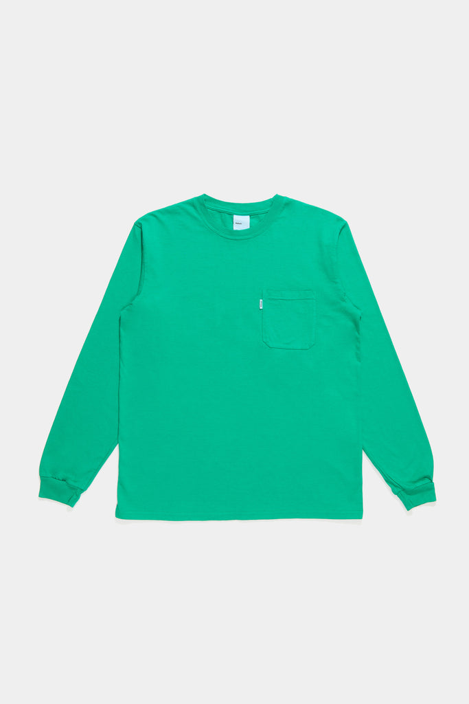 LS Pocket Tee - Light Kelly
