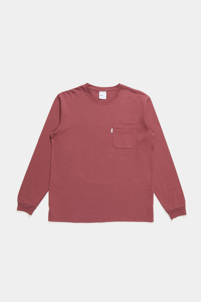 LS Pocket Tee - Raspberry
