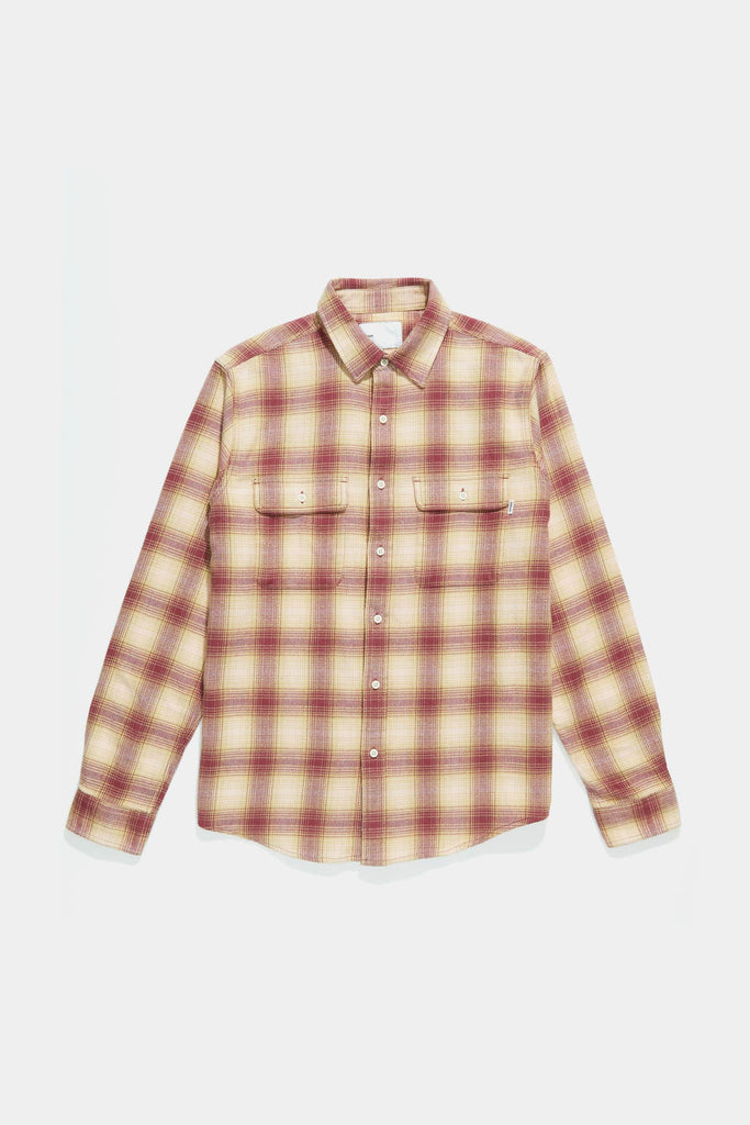 Workshirt - Raspberry Shadow Plaid