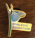 Dyslexic Advantage Lapel Pin