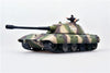 E100 AUSF C German Super Heavy Tank with Tank Commander - 1/72 Scale Model by Modelcollect