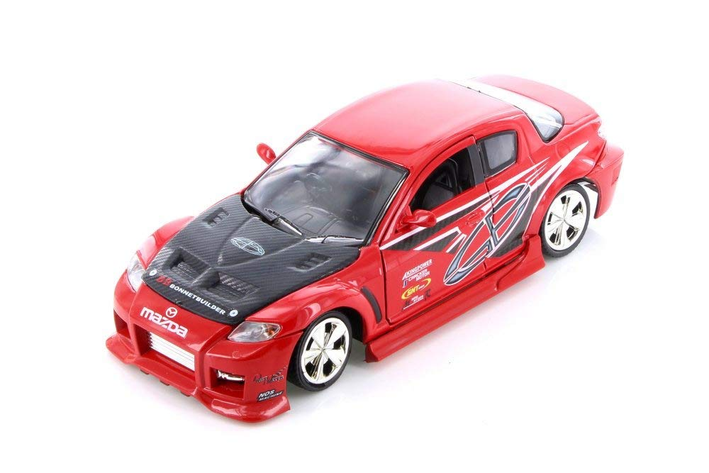 Mazda RX-8 Racing 1/24 Scale Diecast Metal Model by Motormax