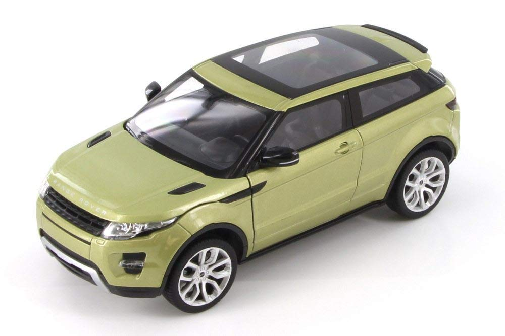 Land Rover Evoque - Green - 1/24 Diecast Metal Model by Welly