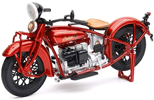 Indian 4 Motorcycle 1/12 Scale Model by NewRay