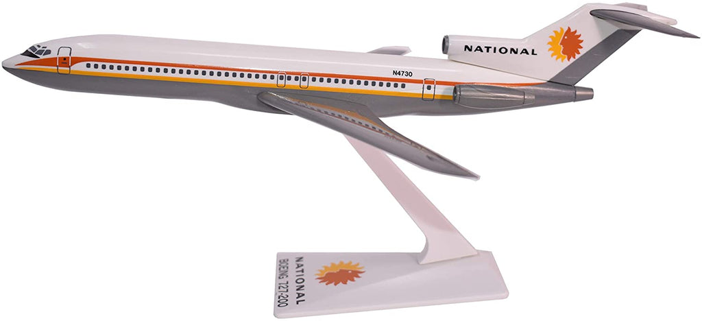 Boeing 727-200 (727) National Airlines 1/200 Scale Model Airplane by Flight Miniatures