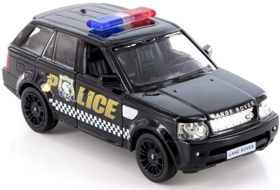 5 inch Police Land Rover Range Rover Sport Scale Diecast Metal Model by Unifortune