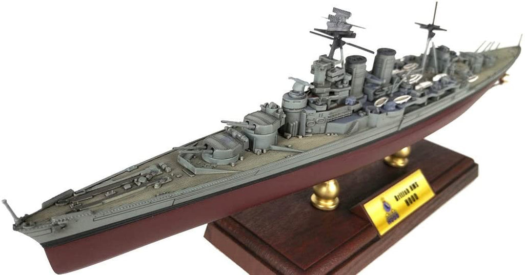 HMS Hood Battlecruiser Royal Navy - 1/700 Scale Diecast & Plastic Model - Forces of Valor