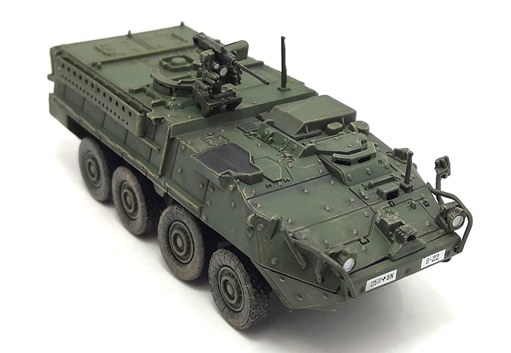 M1126 Stryker Infantry Carrier Vehicle (ICV) US ARMY - 1/72 Scale Diecast Model by Panzerkampf