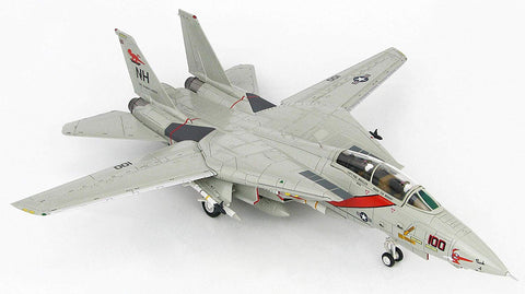Grumman F-14 Tomcat - VF-114 Aardvarks - USS Abraham Lincoln 1991 - 1/72 Scale Diecast Model by Hobby Master