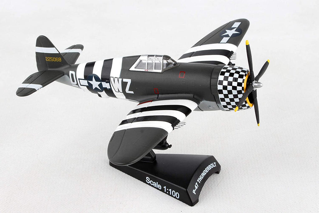 Republic P-47 Thunderbolt - SNAFU - 1/100 Scale Diecast Metal Model by Daron