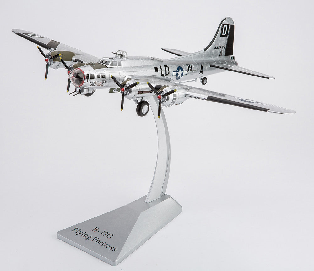 "Boeing B-17 Flying Fortress Bomber ""Miss Conduct"" 1/72 Scale Diecast by Air Force 1"