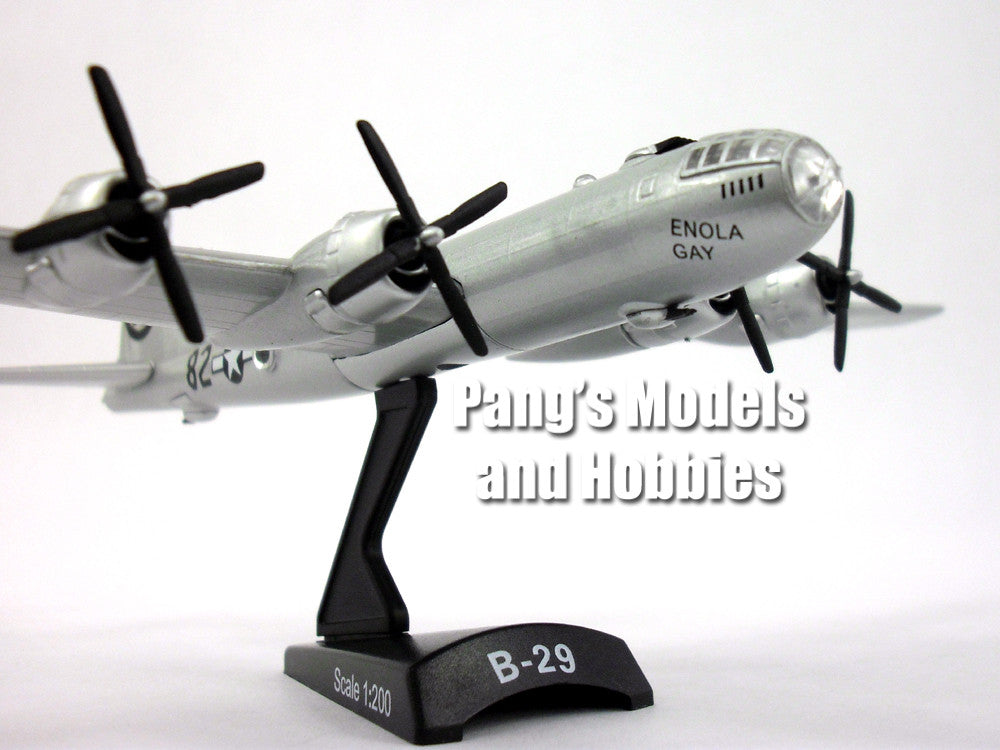 "Boeing B-29 Superfortress ""Enola Gay"" 1/200 Scale Diecast Metal Model by Daron"