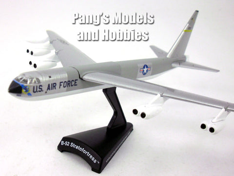 Boeing B-52 (BUFF) Stratofortress Bomber - Silver - 1/300 Scale Diecast Metal Model by Daron