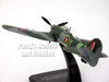Hawker Typhoon IB - 247 Sqn - British Fighter 1/72 Scale Diecast Metal Model by Oxford