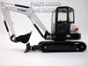 Bobcat E55 Compact Excavator 1/25 Scale Die-cast Metal Model by Bobcat