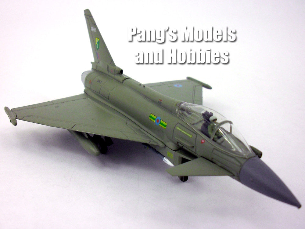 eurofighter typhoon uk 1 100 scale diecast metal model by