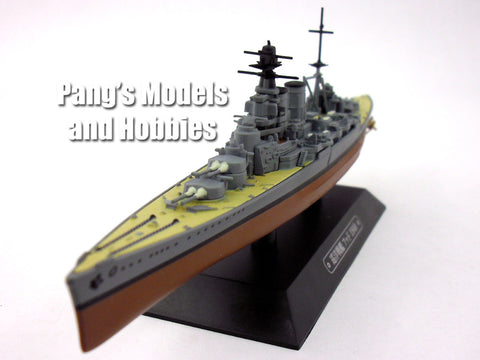 Battlecruiser HMS Hood 1/1100 Scale Diecast Metal Model Ship by Eaglemoss