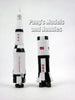 Saturn V Rocket Space Adventure Kit by NewRay - Assembly Required