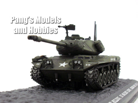 M41 Walker Bulldog Main Battle Tank 1/72 Scale Diecast Metal Model by War Master