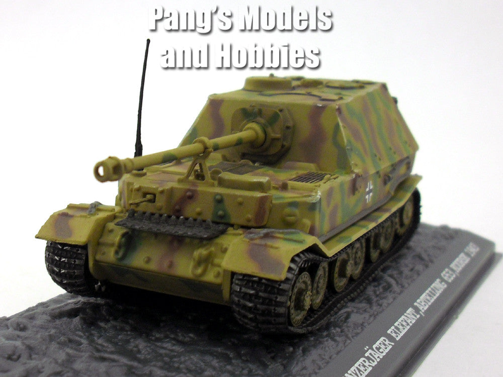Panzerjager Elefant (Elephant) Tank 1/72 Scale Diecast Metal Model by War Master