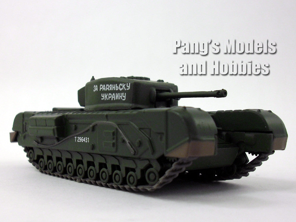 Churchill Mk III Heavy Infantry Tank 1/72 Scale Die-cast Model by Eaglemoss