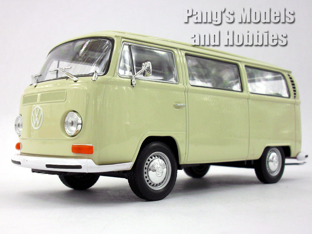 Volkswagen Vw T2 Type 2 Bus 1972 1 24 Diecast Metal