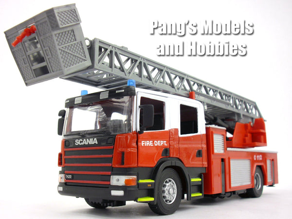 Scania T420 Fire Truck 1 32 Scale Diecast Metal And