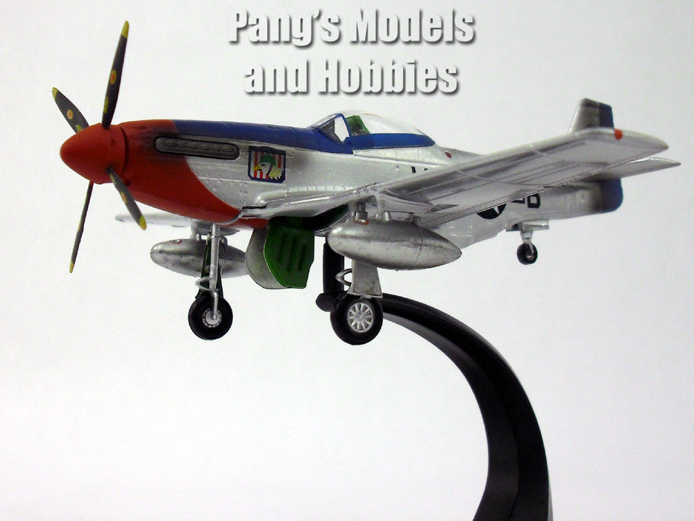 North American P 51 Mustang 1 72 Scale Diecast Metal Model