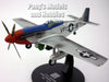 North American P-51 Mustang 1/72 Scale Diecast Metal Model by War Master