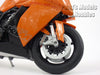 KTM 1190 RC8 (Orange) 1/10 Scale Diecast Metal Model Motorcycle by Welly