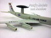 Boeing E-3 (AWACS) Sentry 1/200 Scale Diecast Metal Model by Amercom