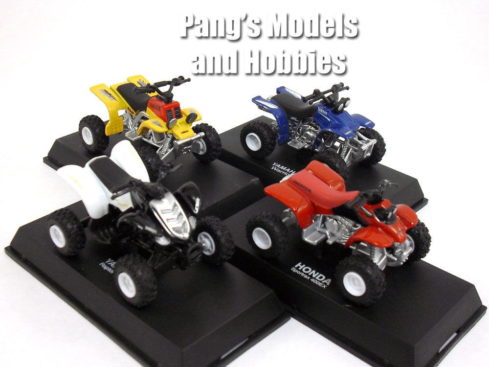 ATV Collection of 4 different 1/32 Scale Diecast Models by NewRay