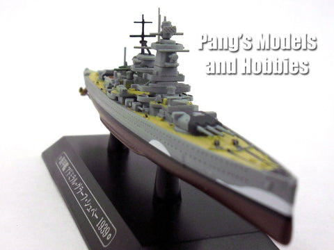 German Cruiser Admiral Graf Spee 1/1100 Scale Diecast Metal Model Ship by Eaglemoss