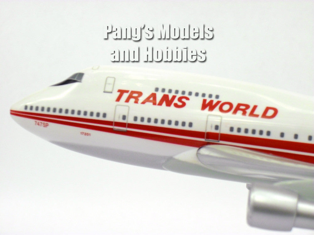 Boeing 747SP TWA 1/200 by Flight Miniatures