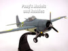 Grumman F4F Wildcat USN 1/72 Scale Diecast Metal Model by Amercom