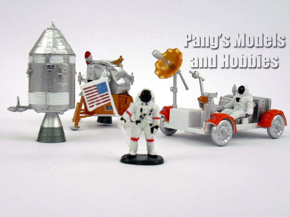 Lunar Rover Space Station Space Adventure Kit by NewRay