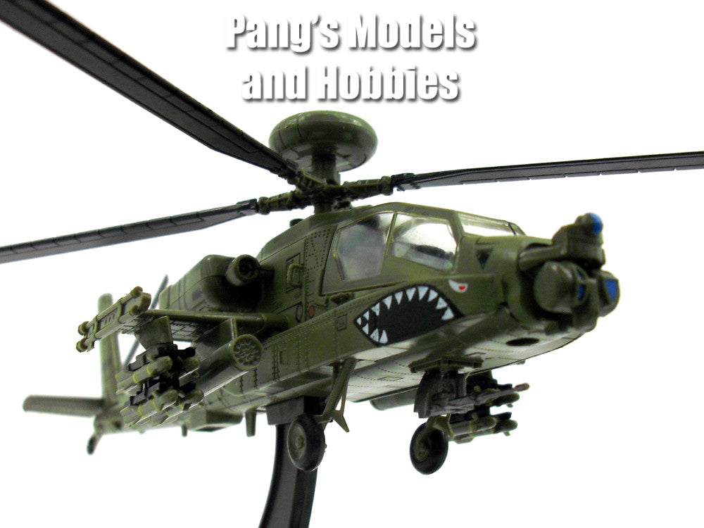 Boeing AH-64 Apache Longbow 1/72 Scale Diecast Helicopter Model by Amercom