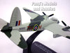 de Havilland Mosquito Fighter-Bomber - Royal Canadian Air Force - 1/72 Scale Diecast Metal Model by Oxford