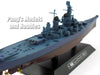 Battleship USS New Jersey (BB-62) 1/1100 Scale Diecast Metal Model Ship by Eaglemoss
