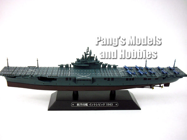 carrier uss intrepid  cv 1100 scale diecast metal