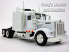 Kenworth W900 White Trailer Truck 1/43 Scale Model by NewRay